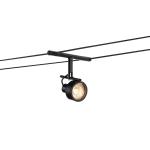 SLV SALUNA, Seilleuchte für TENSEO Niedervolt-Seilsystem, QR-C51, schwarz
