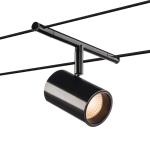 SLV TENSEO NOBLO Seilleuchte für Niedervolt-Seilsystem 2700K schwarz