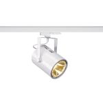 SLV EURO SPOT TRACK DALI für Hochvolt-Stromschienen 3Phasen, LED, 3000K, weiß, 38°, inkl. 3 Phasen-Adapter