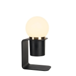 SLV TONILA mobile rechargeable battery powered light black, dimmable in 3 stages, 2700K