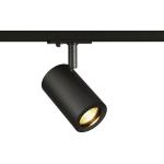 SLV ENOLA_B TRACK SPOT QPAR51, schwarz, 50W, inkl. 1P.-Adapter