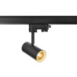SLV NOBLO SPOT schwarz, 2700K, 36°, inkl. 3P.-Adapter