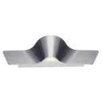 SLV WAVE 40 LED Wandleuchte, Alu/weiß, 2000K-3000K, Dim-to-Warm Funktion