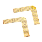 SLV 90° LÖTECKEN für FLEXSTRIP LED RGBW 24V, max. 2A, 2 Stück