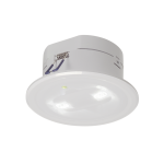 SLV P-LIGHT Emergency lightrecessed, white