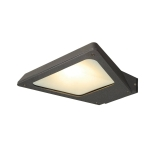 SLV TRAPECCO WALL Outdoor Wandleuchte, LED, 3000K, down, anthrazit, 10W