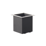 SLV MOUNTING POT for H-POL pathway and floor stand, anthracite
