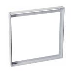 SLV Aufbaurahmen, für I-VIDUAL LED-Panel, silbergrau, L/B 62,5/62,5 cm