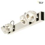 SLV KALU LED 4 Wand- und Deckenleuchte, long, weiß/schwarz, 3000K, 60°