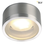 SLV ROX CEILING OUT, TCR-TSE, Outdoor Deckenleuchte, Alu gebürstet, max. 11W, IP44