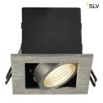 SLV KADUX LED DL Set, Alu gebürstet, 9W, 38°, 3000K, inkl. Treiber