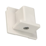 SLV EUTRAC end cap for 3-circuittrack, white
