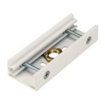 SLV EUTRAC Stoßstellenverbinder für 3 Phasen Stromschiene, weiß