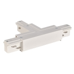 SLV EUTRAC T-connector earth left, white