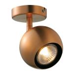 SLV LIGHT EYE 1 GU10 Wand- und Deckenleuchte, kupferfarben, QPAR51, max. 50W