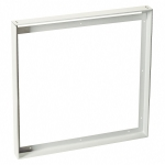 SLV Installation frame for squareLED Panels measuring 595x595mm, matt white