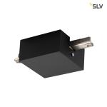 SLV MITTELEINSPEISER, für D-TRACK 2 Phasen Stromschiene, schwarz, mit Gehäuse