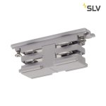 SLV Mini-connector for S-TRACK3-phase track, electrical,silver-grey