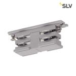 SLV Mini-Verbinder für S-TRACK 3 Phasen Stromschiene, elektrisch, silbergrau