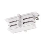 SLV Mini-Verbinder für S-TRACK 3 Phasen Stromschiene, isoliert weiß