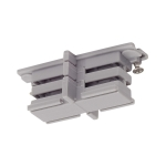 SLV Mini-connector for S-TRACK3-phase track, insulatedsilver-grey