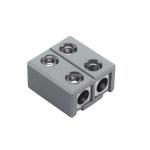 SLV Einspeiser/Längsverbinder für GLU-TRAX, grau, max. 20A