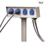 SLV ENERGIE-PACK, 230V, max. 16A, inkl. Erdspieß und Montageschrauben, IP54