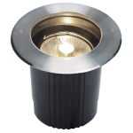 SLV DASAR ES111 inground fitting,round, stainless steel 316,max. 75W, IP67
