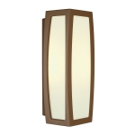 SLV MERIDIAN BOX wall and ceilinglight, rust, E27, max. 20W,with motion sensor
