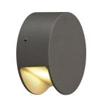 SLV PEMA LED wall light,anthracite, 3.3W LED, 3000K,IP44