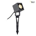 SLV NAUTILUS SQUARE LED Strahler, eckig , anthrazit, 6W, 3000K