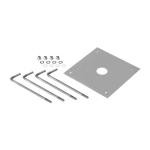 SLV Betonanker-Set für BENDO, Aluminium