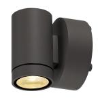SLV HELIA downlight, sandyanthracite,8W LED, 3000K