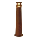 SLV RUSTY 70 LED ROUND floor stand, rusted iron, 8.6W COB LED,3000K, IP55