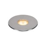 SLV DASAR Premium LED 100,inground fitting, round, 6W,24°, 3000K