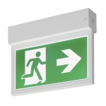SLV P-LIGHT Emergency Exit signsmall ceiling/wall, white
