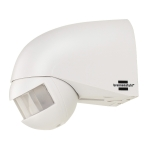 SLV IR motion sensor IP44, white