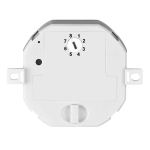 SLV Radio recessed multi dimmerwith 6 memory addresses, max.200W halogen, max. 24W LED