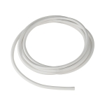 SLV PVC line with fabric sheath, 3-pole, 10m, white
