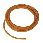 SLV PVC line with fabric sheath, 3-pole, 10m, orange