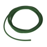 SLV PVC line with fabric sheath, 3-pole, 10m, green