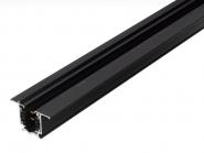 Nordic Global Einbauschiene 4000 mm XTSF 4400-2 schwarz