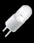 mlight LED Lampe Stiftsockellampe 12V 0,8 W, Lichtfarbe warm-weiß, G4 EEK: A