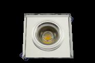 M-Light Einbaustrahler- Glas klar rund