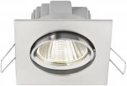 M-Light LED- Einbaustrahler square  5W 3000K - A+