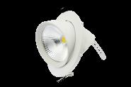 M-Light LED- Deckeneinbaustrahler schwenkbar  20W 3000K - A+