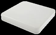 m-light LED-Deckenleuchte VALUNA IP 44 square,15W,230V,3000K,120°,1200lm,30000h,A+,nicht dimmbar,Farbe,weiss