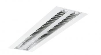 Sylvania Rana 1200x300 Raster LED 2x30W 840 1-10V weiss Leuchte Sylvania - 1 Stück EEK: A+