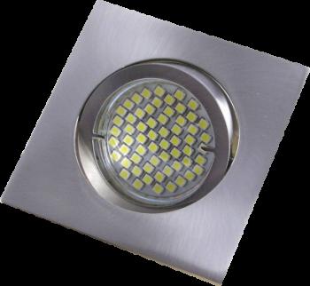 mlight Einbaustrahler-Aluminium eckig FT-92155 Bajo., Farbe, WS