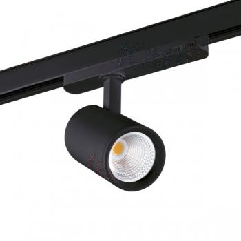 Kanlux LED-3-Phasen-Stromschienenstrahler ATL1 18W-940-S6-B----5 Jahre Garantie----
